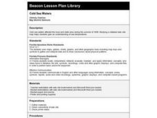 COLD SEA WATERS Lesson Plan