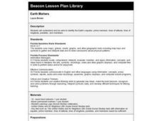 Earth Matters Lesson Plan