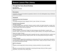 Through the Years Lesson Plan