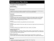 Through the Years: Language Arts Lesson Plan