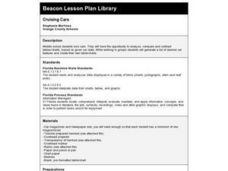Cruising Cars Lesson Plan