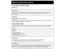 From Pirates to Pilots to Spies Lesson Plan