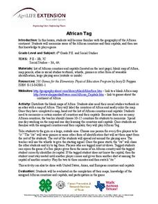 African Tag Lesson Plan