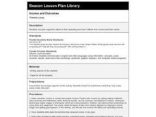 Income and Outcomes Lesson Plan
