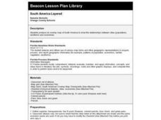 South America Layered Lesson Plan
