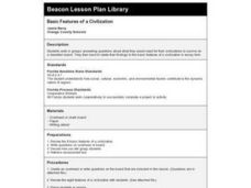 Basic Features of a Civilization Lesson Plan
