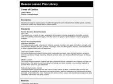 Zones of Conflict Lesson Plan