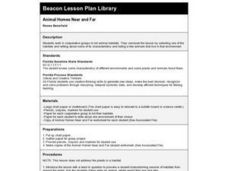 Animal Homes Near and Far Lesson Plan