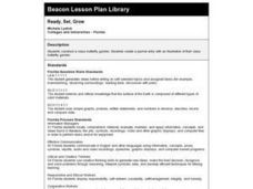 Ready, Set, Grow Lesson Plan