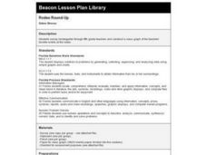 Rodeo Round-Up Lesson Plan