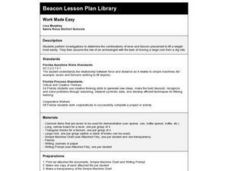 Work Made Easy Lesson Plan