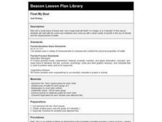 Float My Boat Lesson Plan