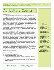 Agriculture Counts Lesson Plan