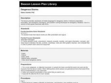 Dangerous Storms Lesson Plan