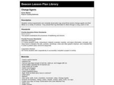 Change Agents Lesson Plan