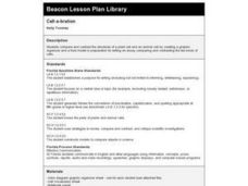 Cell-a-bration Lesson Plan
