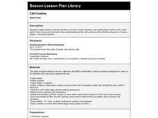 Cell Cookies Lesson Plan