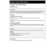 Creatures From the Black Lagoon Lesson Plan