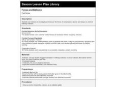 Forces and Balloons Lesson Plan