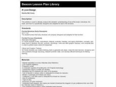 A Love Design Lesson Plan
