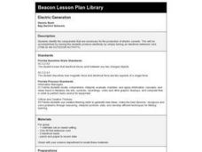 Electric Generation Lesson Plan