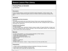 Floating Plates on the Earth Lesson Plan