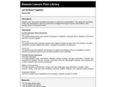 Let Us Bond Together Lesson Plan