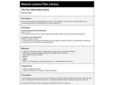 The Ten Little Indians Count Lesson Plan