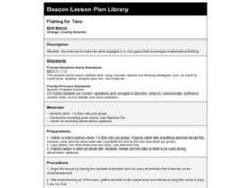 Fishing for Tens Lesson Plan