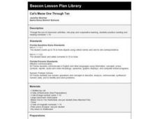 Cat's Meow One Through Ten Lesson Plan