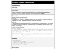 Birthday Blast Lesson Plan