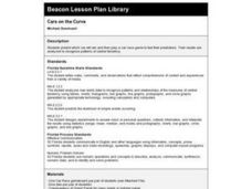 Cars on the Curve Lesson Plan