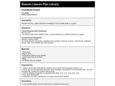 Coordinate Crunch Lesson Plan