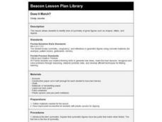 Does It Match? Lesson Plan