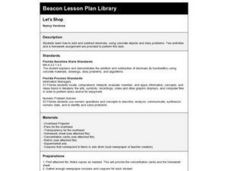 Let's Shop Lesson Plan