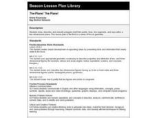 The Plane! The Plane! Lesson Plan