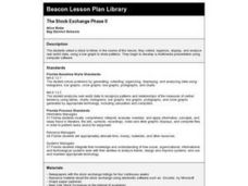 The Stock Exchange Phase II Lesson Plan