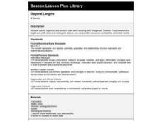 Diagonal Lengths Lesson Plan