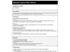 Gummy vs. Gum Lesson Plan
