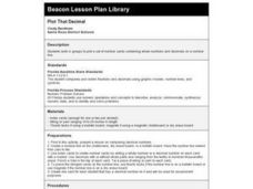 Plot That Decimal Lesson Plan