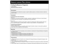 Finding the Measure of Segments Lesson Plan