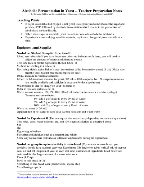 Glycolysis Lesson Plans Worksheets Lesson Planet