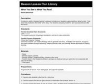 What You See Is What You Read Lesson Plan