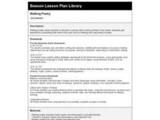 Walking Poetry Lesson Plan
