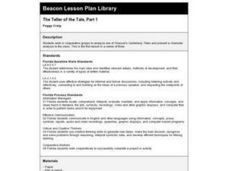 The Teller of the Tale, Part 1 Lesson Plan