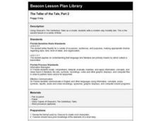 The Teller of the Tale, Part 2 Lesson Plan