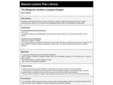 The Allegorical Jonathan Livingston Seagull Lesson Plan