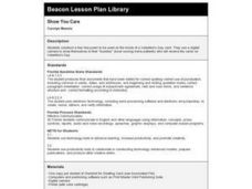 Show You Care Lesson Plan