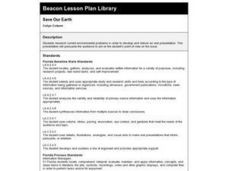 SAVE OUR EARTH Lesson Plan