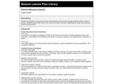School Advisory Council Lesson Plan
